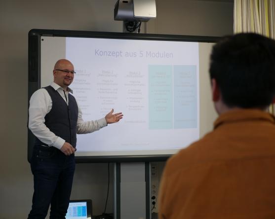 exklusives Beratungskonzept in 5 Modulen- Talentfuchs Marco Niehoff